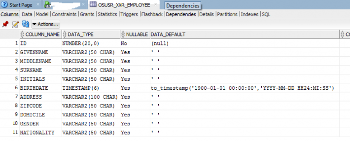SQLDeveloper_OutSystems_Entity_Table